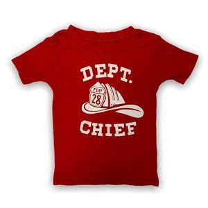 Carter's Fire Chief T Shirt